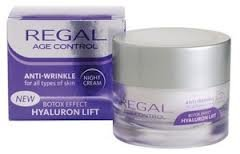 Regal Age Control Anti-Falten Tagescreme Botox Effect Hyaluron Lift mit ARGIRELINE®