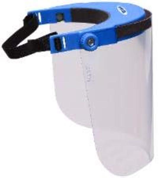 3 PEZZI Visiera protettiva viso trasparente policarbonato schermo di sicurezza