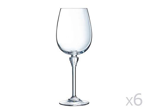 Cristal d'Arques AVE3618016 Verre, Cristallin, Multicolore, 27 X 18