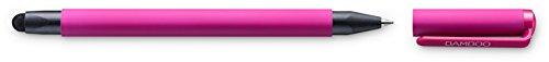 Bamboo Duo CS-191 kapazitiver Stylus (4. Generation, mit Kugelschreibermiene, geeignet für iPad und iPhone) pink Mobile Stylus Pen