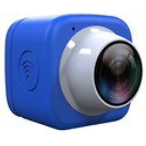 OKCSC WiFi selfie cámara Mini DV Grabadora Coche DVR de 720P HD 120grados de ángulo ancho lente con conexión inalámbrica incorporada WIFI, Mobile app Control, color