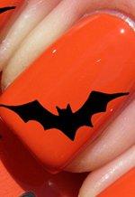 Halloween Grosse chauve-souris - Stickers pour ongles YRNAILS