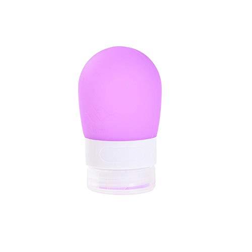 Pawaca Coque en silicone Bouteille de voyage Petit, 38 ml conteneurs de bouteilles de voyage en silicone, Squeezable LeakProof Go Coque en silicone vide bouteilles de voyage pour shampoing Après-shampoing Lotion produits de toilette Gel crème mains