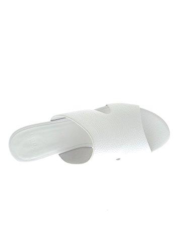 Luciano Barachini 6025 B Sabots Femme Blanc Cassé - blanc