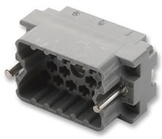 EDAC PLUG WITH NUT - 20 PIN 516-020-000-302 By EDAC