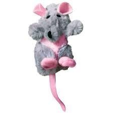 Kong Ratten nachfüllbar Catnip Toy, Farben variieren,, enthält Top Qualität natürlichen Katzenminze Pet Supplies/Geschäften -