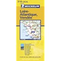 Carte routière : Loire-Atlantique - Vendée, N° 11316