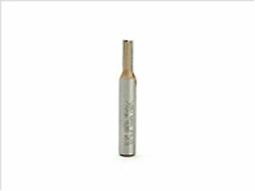 Black + Decker x80113Router Bit Single Flöte, 6,35mm, 1/10,2cm -