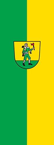 magFlags Drapeau Todtnau | portrait flag | 6m² | 400x150cm