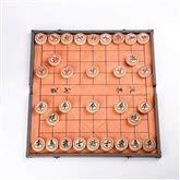 Kehuitong Set di Scacchi Cinesi, Legno massello di Prima Scelta, Scacchiera Pieghevole, Viaggio Comodo, Scacchi Cinesi a casa (15 Pollici) ( Size : 6.0 Engraving Pattern )