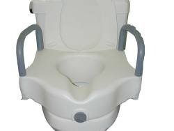 mck78463500-mckesson-brand-raised-toilet-seat-with-arms-sunmark-5-inch-white-250-lbs-by-mckesson