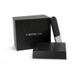 wetek Core Box Android HD 1080P Schwarz (Wd Media Player Live-streaming Tv)