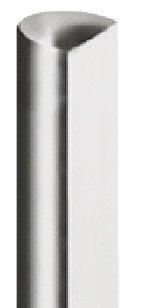 Gedotec Drehstange Metall Profilstange für Drehstangen-Schloss für Schrank-Türen & Möbel | Stangen-Ø 6 mm | Stahl vernickelt | Länge: 1165 mm | 1 Stück - Stange für Kleiderschrank Möbelschlösser