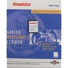 Franklin Gabler Wirtschaftslexikon auf MMC-Card Franklin MMC-GAB. Für Franklin / PALM / NOKIA / Pocket PC