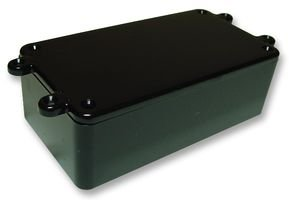 ABS BOX - LUGGED LID / BLACK BIM2004/14 LUG / BLK By CAMDENBOSS