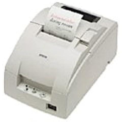 Epson TM-U220D White,Impresiora de Recibo,Color Rojo (7.6 cm) 17.8 cpi 9 Pines a 6 líneas / seg