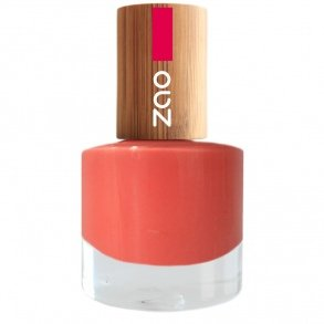 ZAO Nagellack 656 koralle pink-orange mit Bambus-Deckel (7-free, vegan) rosa (Pfirsich-öl Bio)