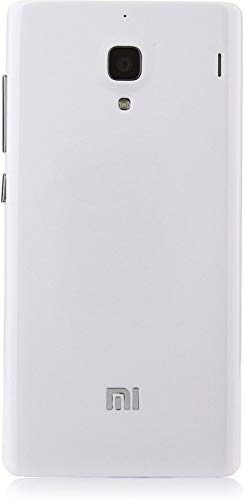 Mobiltech Back Replacement Cover for Mi Redmi 1S (White, Plastic)