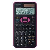 Sharp Schulrechner EL-531 XG PK wissenschaftlich pink