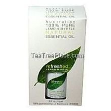 TEA TREE - Refreshed Lemon Myrtle Pure Oil - 0.5 fl. oz. (15 ml)