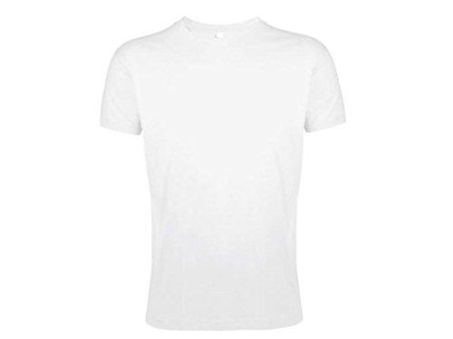 T-SHIRT UOMO SLIM REGENT FIT SOL'S Bianco