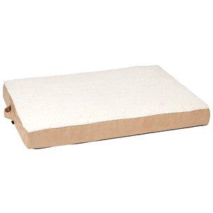 Karlie 10047 Ortho Bed, Angular Cama Perro, Beige, 100 x 65 x 12 cm, L