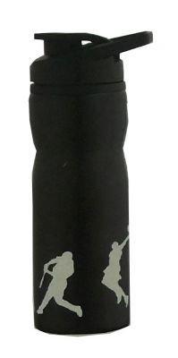 H2O Stainless-Steel Water Bottle, 750ml (Black)