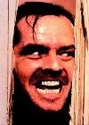 The Shining Face Here's Johnny Scary Movie PAPER POSTER measures 34 x 24 inches (86.5 x (Movie Poster Scary)