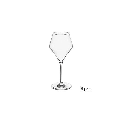 Lot de 6 verres à eau - 37 cl - Clarillo - Cristallin