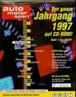 Auto Motor und Sport. Jahrgang 1998. CD- ROM für Windows 95/98/NT4.0(SP3)/MacOS ab 7.1 -