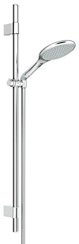 GROHE Rainshower Solo 150 | Brause- und Duschsysteme - Brausestangenset | 900mm, 2 Strahlarten, variable Bohrlöcher zur Befestigung, chrom | 27273001