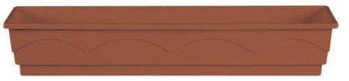Emsa 501839 Blumenkasten 100 cm terracotta LAGO AQUA COMFORT