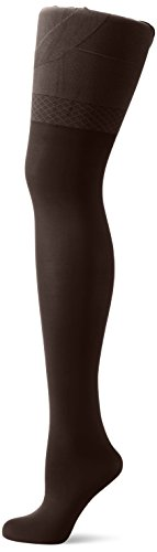 Envie Femme Effet Liftant 50conception Collants Femme en microfibre avec micro slim Up sur le Fessier, Femme, ENVIE Micro-Slim-Up-50-Strumpfhosen Chocolat