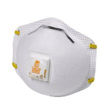 3M ZSALNNFFC2122 N95 Particulate Respirator with Valve, Pack of 10