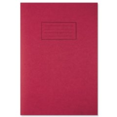 silvine-exercise-book-ruled-and-margin-80-pages-a4-red-ref-ex107-pack-10