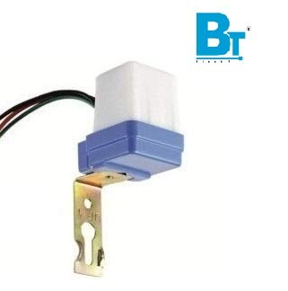 Blackt Electrotech (BT31P2) : 230Volt Auto Day/Night on and off Photocell LDR Sensor Water Proof Switch for Lighting (White)
