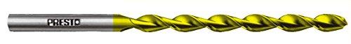 Hi-Tech HSS-E Co8 TiN Spiralbohrer DIN 340 TS, lang: Ø 4,10 x Arbeitslänge 78 mm x Gesamtlänge 119 mm