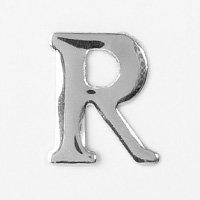 Unique Universel Aluminium Rivers des Lettre R (Argent), 3 Pièces