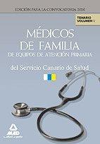 Médicos De Familia De Equipos De Atención Primaria Del Servicio Canario De Salud. Temario. Volumen V