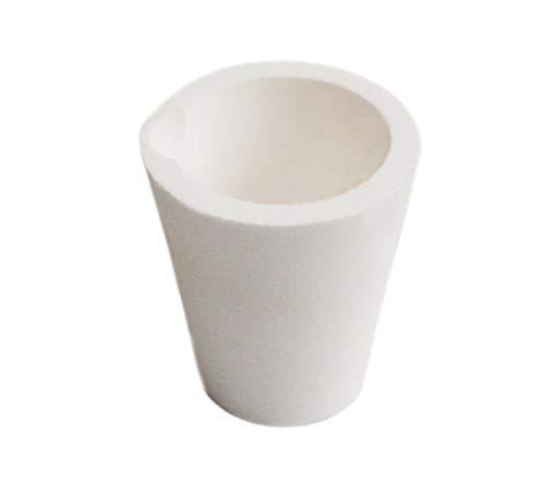 LLF Keramik Schmelztiegel Tasse Ofen Schmelzen Gießen verfeinert Gold Silber Kupfer Gussbecher 200 g