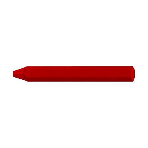 de für geben, Lochsägen, Fluoreszierendes Rot, 12 (Klar Crayon)