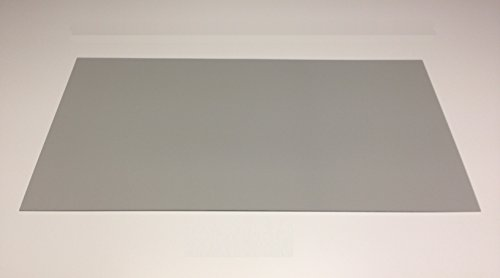 8,0 mm PVC-Hartschaumplatte grau Schilderbau 1220 x 600 mm PVC POS/POP