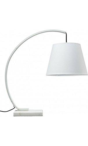 La Chaise Longue - Lampe à poser moderne acier blanc Arco