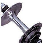 Shimano dura-ace, hb-7600Großer Flansch doppelseitig, Track Hub, 36Loch Silber silber 36 Loch