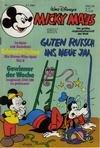 Micky Maus Heft 1984 Nr. 1 , 3.1.1984 , Comic-Heft Walt Disneys