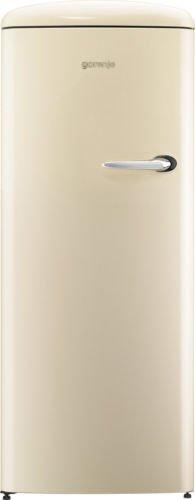 Gorenje ORB153C-L A+++ Retro Style 229 Litres Fridge with Ice Box (Left Hand Hinge) in Cream