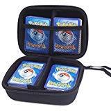 400+ Karten Tragen Tasche für Pokemon Card Game. mit Handschlaufe - Schwarz