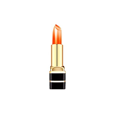 Smengg rossetto balsamo per labbra cambia temperatura di gelatina trasparente per cambio temperatura(c)