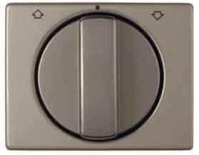 Hager ARSYS Zentralplatte Jalousie Fernbedienung Metall bronze (Bronze Jalousien)