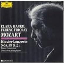Mozart-Concertos Pr Piano N 19&27-Clara Haskil-F.Fricsay-